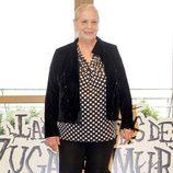 Terele Pávez en la presentación del rodaje de 'Las brujas de Zugarramurdi'