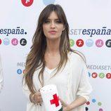 Sara Carbonero el Día de la Banderita 2012