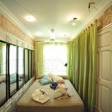 Habitación doble de la casa 'Gandía Shore' donde dormían algunos concursantes