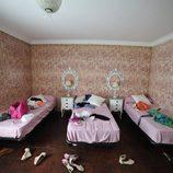 Habitación triple donde los concursantes descansaban en 'Gandía Shore'