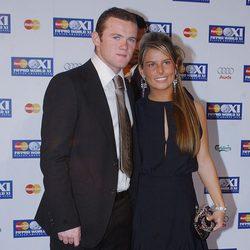 Wayne Rooney y su mujer Coleen