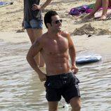 David Bustamante presume de cuerpo en las playas de Ibiza