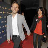 Raquel del Rosario y Pedro Castro en los Premios Cuida de ti 2012
