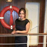 Marina Salas en la presentación de la tercera temporada de 'El Barco'