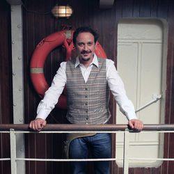 Luis Callejo en la presentación de la tercera temporada de 'El Barco'