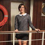 Irene Montalà en la presentación de la tercera temporada de 'El Barco'