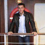 Mario Casas en la presentación de la tercera temporada de 'El Barco'