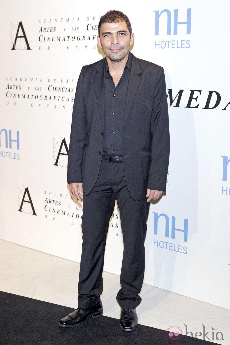 Vladimir Cruz en la entrega de la Medalla de Oro de la Academia de Cine 2012