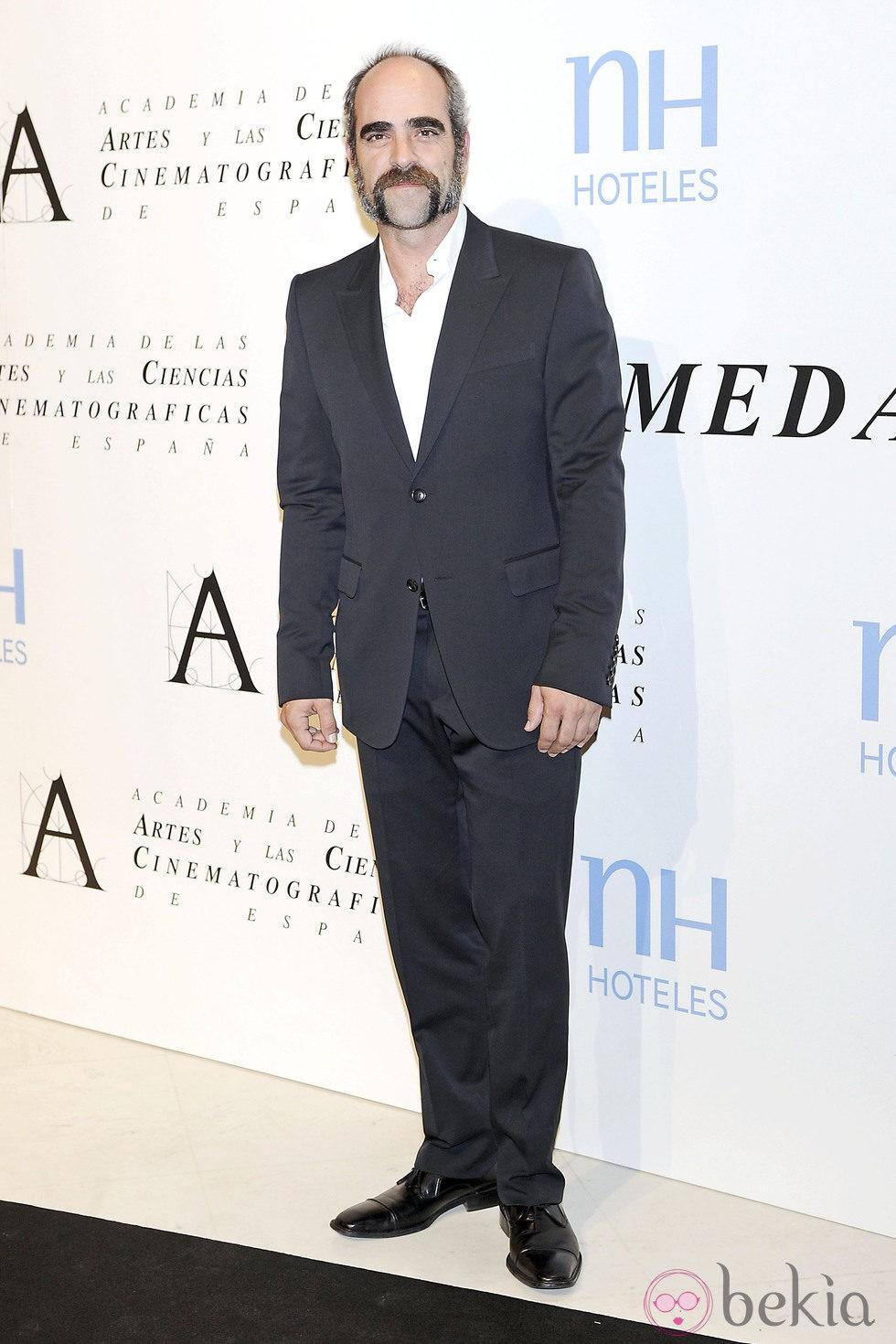 Luis Tosar en la entrega de la Medalla de Oro de la Academia de Cine 2012