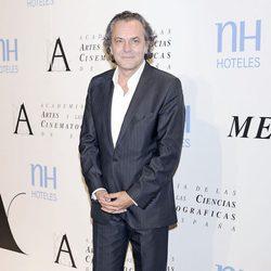 José Coronado en la entrega de la Medalla de Oro de la Academia de Cine 2012