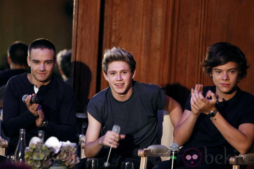 Liam Payne, Niall Horan y Harry Styles de One Direction