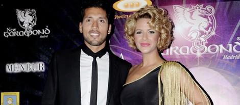 Tamara Gorro y Ezequiel Garay en la presentación de la tienda on line de 'GOGGA'
