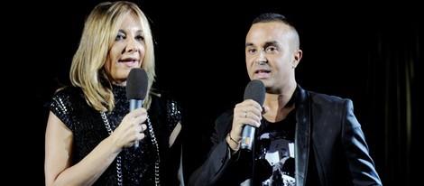 Belén Rodríguez y Luis Rollán en la presentación de la tienda on line de Tamara Gorro