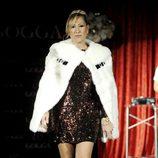 Rosa Benito desfilando en la presentación de la tienda on line de Tamara Gorro