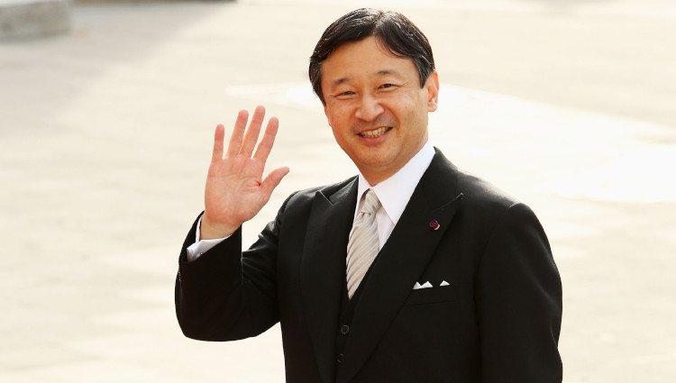Naruhito de Japón en la boda de Guillermo de Luxemburgo y Stéphanie de Lannoy