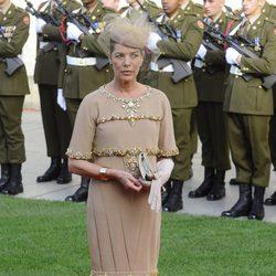 Carolina de Mónaco en la boda de Guillermo de Luxemburgo y Stéphanie de Lannoy