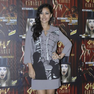 Giselle Calderón en la fiesta de inauguración de la nueva temporada de Oh Cabaret