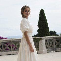 Amaia Salamanca en la presentación en Santander de la serie 'Gran Hotel'