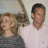 Los Duques de Palma en la cena del 30º Aniversario de la Copa del Rey de Vela