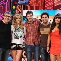 Florentino Fernández, Anna Simón, Dani Martínez, Raúl Gómez y Cristina Pedroche