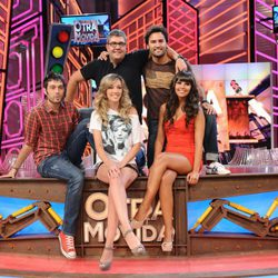 Florentino Fernández, Anna Simón, Dani Martínez, Raúl Gómez y Cristina Pedroche presentan 'Otra movida'
