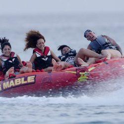 Rihanna, una joven aventurera durante sus vacaciones en Barbados