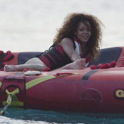 Rihanna, una sirena en Barbados