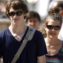 Carlota Casiraghi con su segundo novio Félix Winckler en 2006