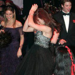 Carlota Casiraghi en el Baile de la Rosa de 2007