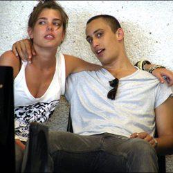 Carlota Casiraghi y alex Dellal en julio de 2007 en Mallorca