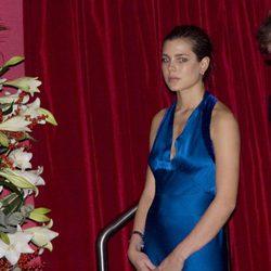 Carlota Casiraghi en el Día de Mónaco en 2008