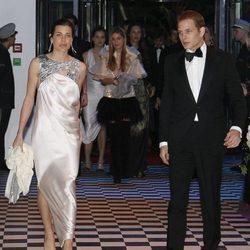 Carlota y Andrea Casiraghi en el Baile de la Rosa 2010