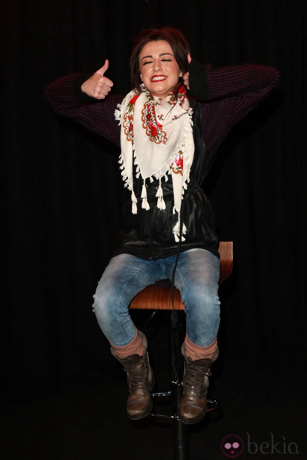 Cher Lloyd, contenta por su éxito