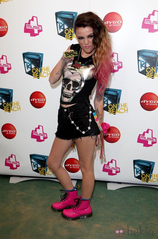 Cher Lloyd, la más dura en T4 on the beach