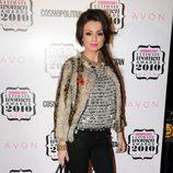 Cher Lloyd, en los premios mujer del año de Cosmopolitan