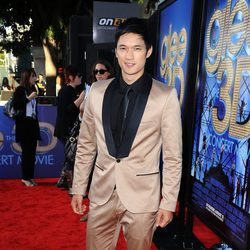 Harry Shum Jr. en el estreno de 'Glee: The 3D Concert Movie'