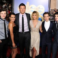 Chris Colfer, Lea Michele, Cory Monteith, Diana Agron, Kevin McHale y Darren Criss