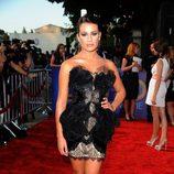 Lea Michele en la première de 'Glee: The 3D Concert Movie'