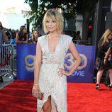Dianna Agron, espectacular en la alfombra roja de 'Glee'