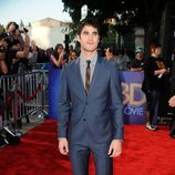 Darren Criss en la première de 'Glee: The 3D Concert Movie'