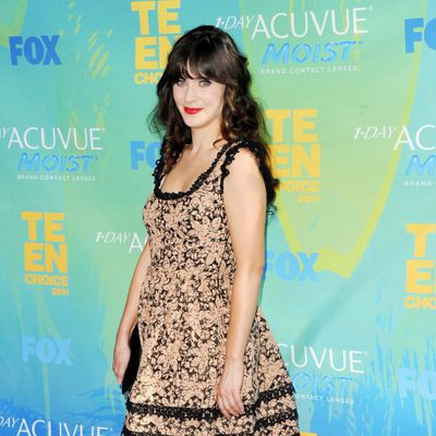 Zooey Deschanel en los Teen Choice Awards 2011