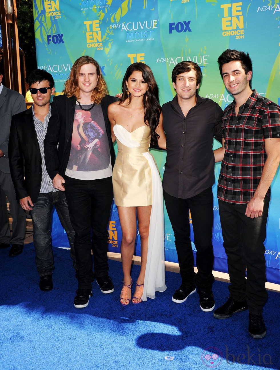 Selena Gomez y The Scene en los Teen Choice Awards 2011