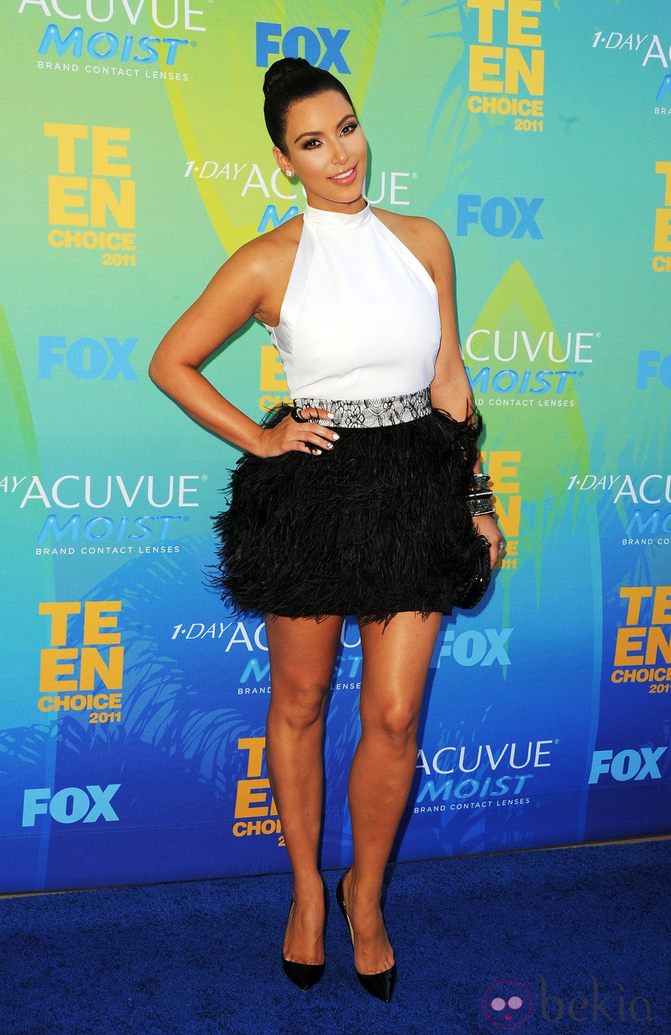 Kim Kardashian en los Teen Choice Awards 2011