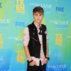 Justin Bieber en los Teen Choice Awards 2011