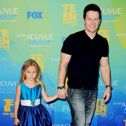 Mark Wahlberg en los Teen Choice Awards 2011