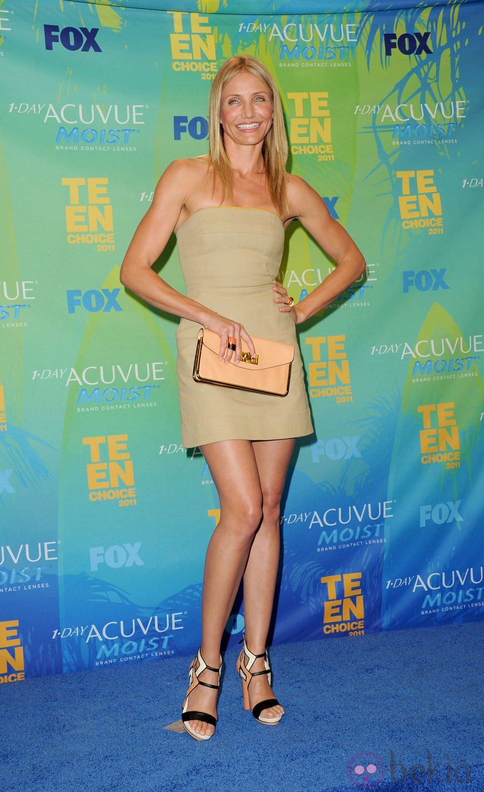Cameron Diaz en los Teen Choice Awards 2011