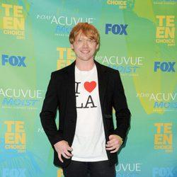 Rupert Grint en los Teen Choice Awards 2011