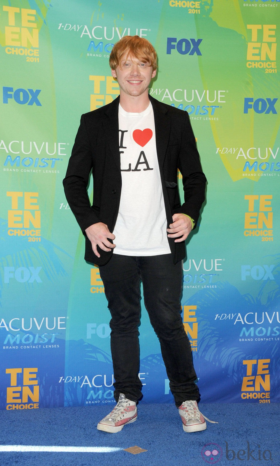 Rupert Grint en los Teen Choice Awards 2011