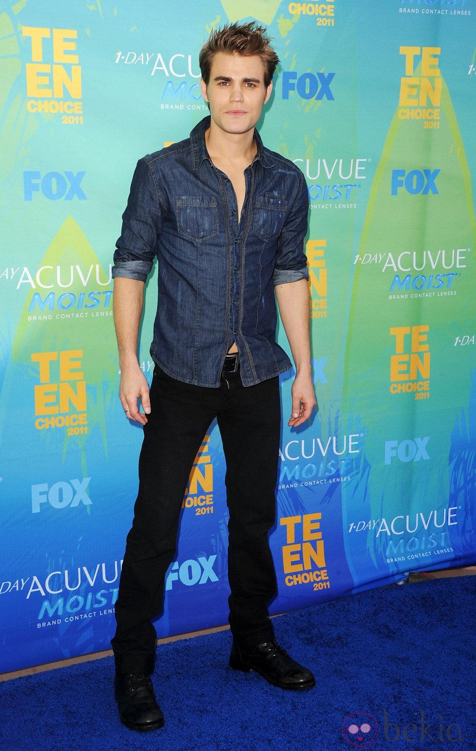 Paul Wesley en los Teen Choice Awards 2011