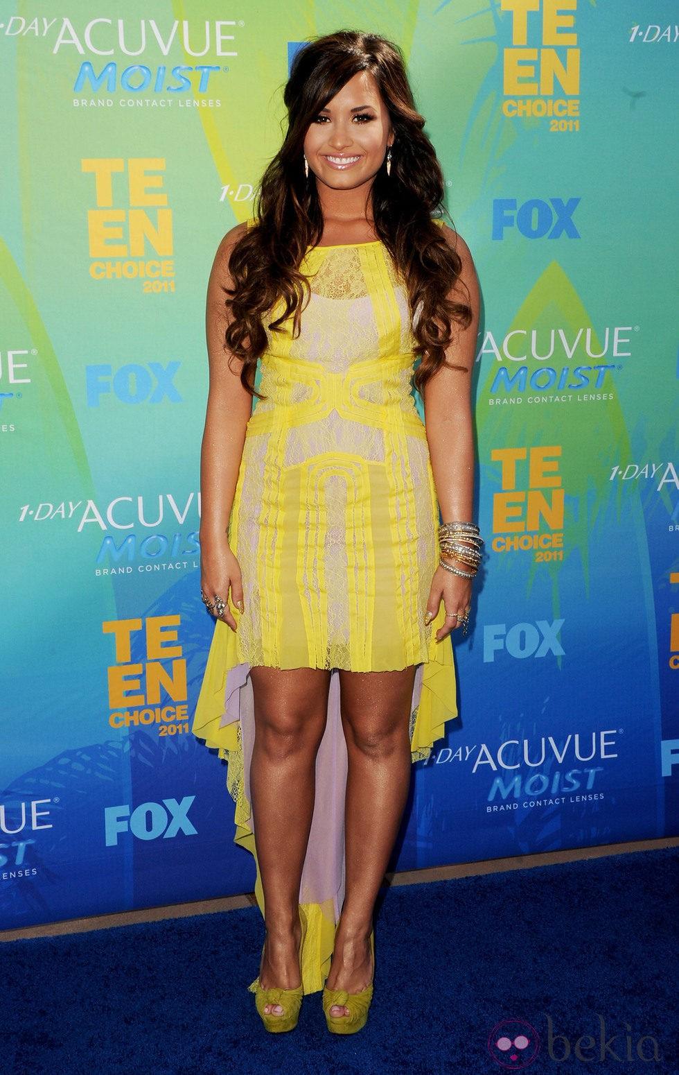 Demi Lovato en los Teen Choice Awards 2011